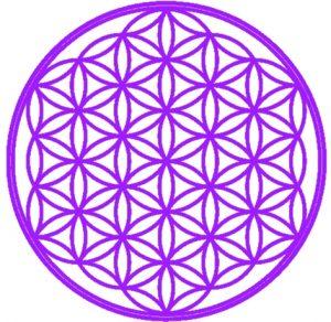 Fleur de Vie petit violette